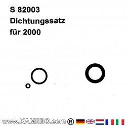 Dichtungen für VAUPEL Pistolen Serien 2000 / 2100