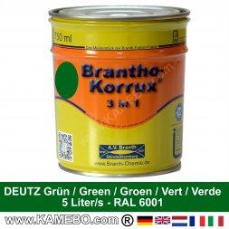 3in1 Vernice per trattore lucente con effetto di seta Deutz Verde scuro 750 ml