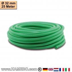 PVC-Spiralschlauch für Pumpen 32mm 25 Meter