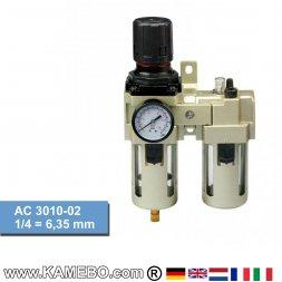 HJC Druckluft-Wartungseinheit 2teilig AC 3010-02