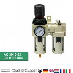 HJC Druckluft-Wartungseinheit 2teilig AC 3010-03