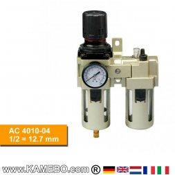 HJC Druckluft-Wartungseinheit 2teilig AC 4010-04