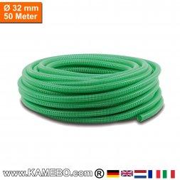 PVC-Spiralschlauch für Pumpen 32mm 50 Meter