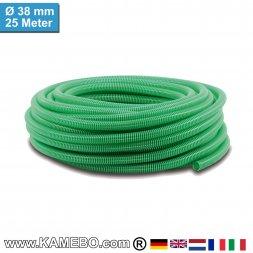 PVC-Spiralschlauch für Pumpen 38mm 25 Meter