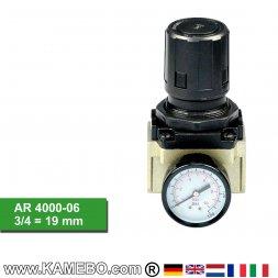 HJC Druckluft Regler mit Manometer AR 4000-06