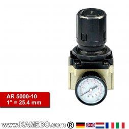 HJC Druckluft Regler mit Manometer AR 5000-10