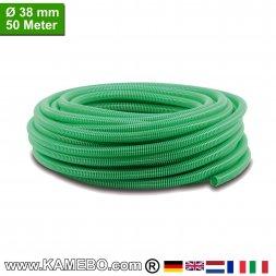 PVC-Spiralschlauch für Pumpen 38mm 50 Meter