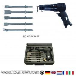 RODCRAFT Druckluft-Meisselhammer RC5120 Set