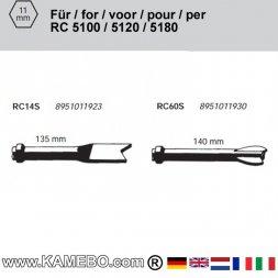 RODCRAFT Meißel für Blech und Metall RC14S und RC60S