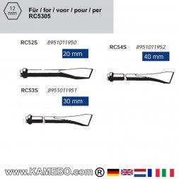 RODCRAFT Meißel für Metall RC52S-RC53S-RC54S