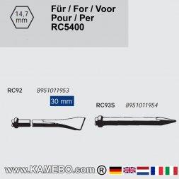 RODCRAFT Meißel für Metall RC92-RC93S