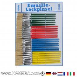 Universalpinsel Emaillepinsel 24 Stück