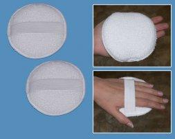 Polierhandpad mit Handschlaufe 120mm 2 Stück