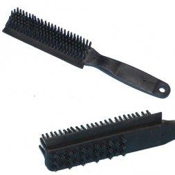 Brush for removing pet hair