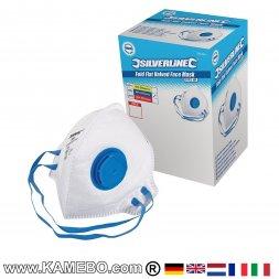 Atemschutzmaske mit Ventil FFP2 NR 25 Stück