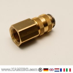 VAUPEL Quick Connector / Coupling for Cavity Tubes