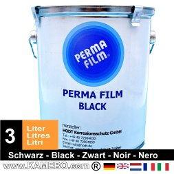 PERMA FILM Underbody Coating Black 3 Litres