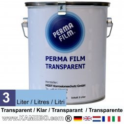 PERMA FILM Unterbodenschutz Transparent / Klar 3 Liter