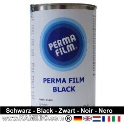 PERMA FILM Unterbodenschutz Black / Schwarz 1 Liter