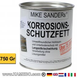 MIKE SANDER's KORROSIONSSCHUTZFETT 750 Gramm