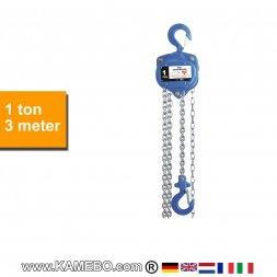 Flaschenzug HJC-1000/3 1 Tonne