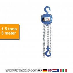 Flaschenzug HJC-1500/3 1,5 Tonnen