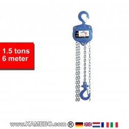 Flaschenzug HJC-1500/6 1,5 Tonnen