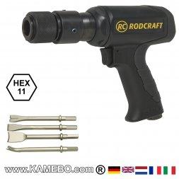 RODCRAFT Druckluft-Meisselhammer RC5185K-M
