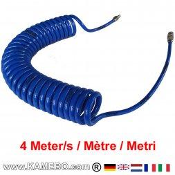 AirApp Druckluft Spiralschlauch ZW-SS4 4 Meter lang