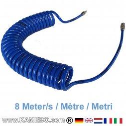 AirApp Druckluft Spiralschlauch ZW-SS8 8 Meter lang
