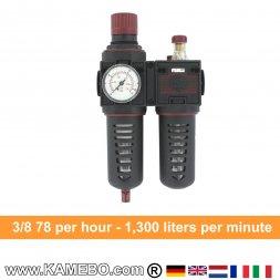 AirApp Druckluft-Wartungseinheit C250-03HC