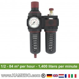 AirApp Druckluft-Wartungseinheit C252-04HC