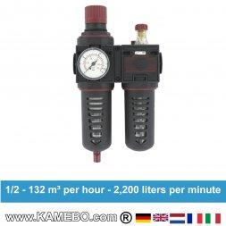 AirApp Druckluft-Wartungseinheit C275-04HC