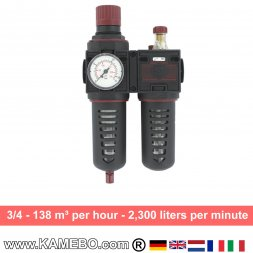 AirApp Druckluft-Wartungseinheit C280-06HC