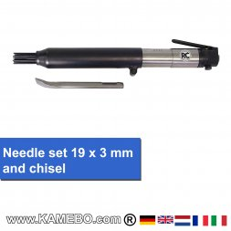 RODCRAFT Nadelentroster und Meisselhammer RC5610