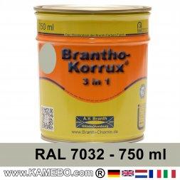 BRANTHO-KORRUX 3in1 Rostschutzlack RAL 7032 Kieselgrau 750 ml
