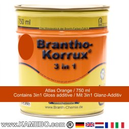 BRANTHO-KORRUX 3in1 Rostschutzlack Atlas Orange 750 ml