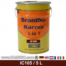 BRANTHO-KORRUX 3in1 Rostschutzlack Iveco Chassis IC 105 Rotbraun 5 Liter
