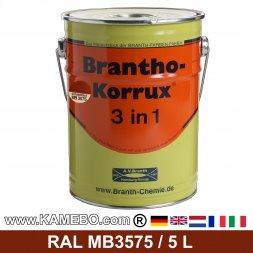 BRANTHO-KORRUX 3in1 Rostschutzlack Mercedes-Benz Chassis MB3575 Ochsenblut 5 Liter