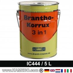 BRANTHO-KORRUX 3in1 Rostschutzlack Iveco Chassis IC 444 Grauschwarz 5 Liter
