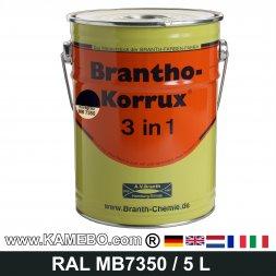 BRANTHO-KORRUX 3in1 Rostschutzlack Mercedes-Benz Chassis MB7350 Novagrau 5 Liter