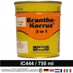 BRANTHO-KORRUX 3in1 Rostschutzlack Iveco Chassis IC 444 Grauschwarz 750 ml