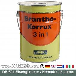 BRANTHO-KORRUX 3in1 Rostschutzlack DB 601 Glimmergrün 5 Liter