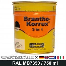 BRANTHO-KORRUX 3in1 Rostschutzlack Mercedes-Benz Chassis MB7350 Novagrau 750 ml
