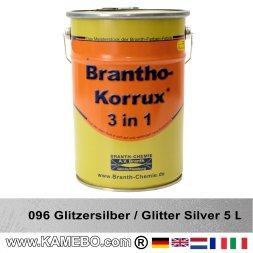 BRANTHO-KORRUX 3in1 Rostschutzlack 096 Glitzersilber 5 Liter