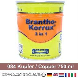 BRANTHO-KORRUX 3in1 Rostschutzlack 084 Kupfer 750 ml