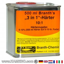 3in1 HARDENER for BRANTHO-KORRUX 3in1 500 ml